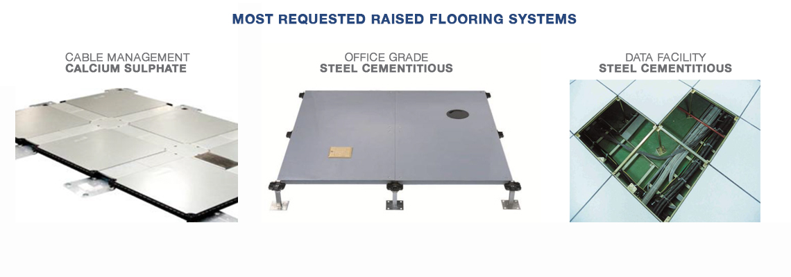 Raised Access Flooring systems