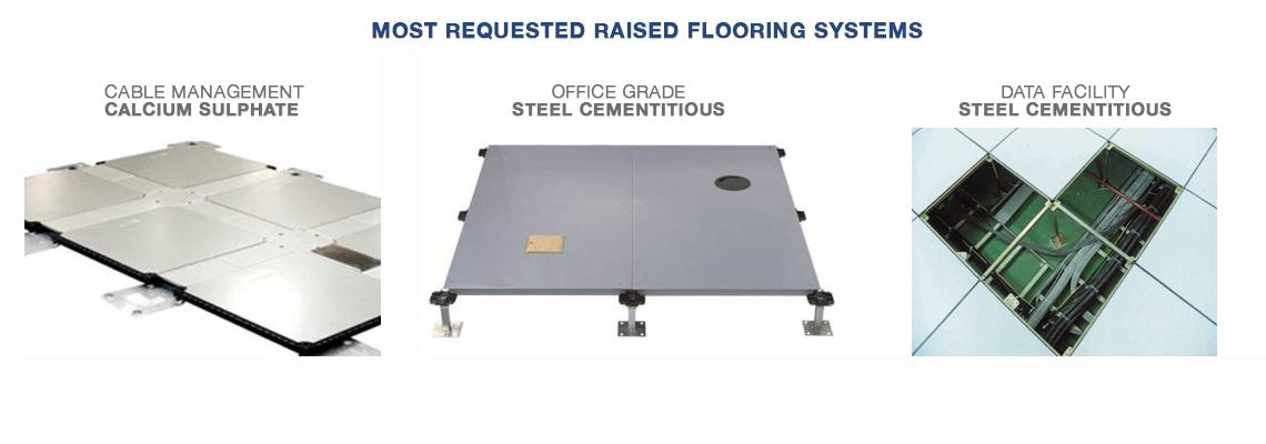 Raised Access Flooring systems
